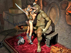picture #2 ::: Warrior princess turn into her enemy's sex slave