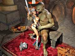 picture #3 ::: Warrior princess turn into her enemy's sex slave