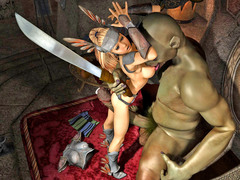 picture #4 ::: Warrior princess turn into her enemy's sex slave