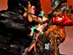 picture #7 ::: Elven slut takes on two massive cocks