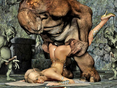 picture #5 ::: Hot blonde gets raped by a thug monster gang