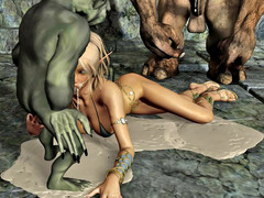 picture #10 ::: Hot blonde gets raped by a thug monster gang