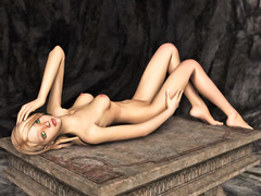 picture #1 ::: Slutty girl posing naked waiting for some action