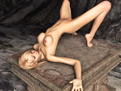 picture #3 ::: Slutty girl posing naked waiting for some action