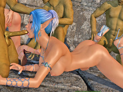 picture #2 ::: Sexy ladies raped by demon and more naughty chicks fucking hard