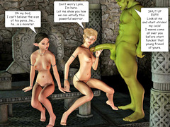 picture #3 ::: Sexy ladies raped by demon and more naughty chicks fucking hard