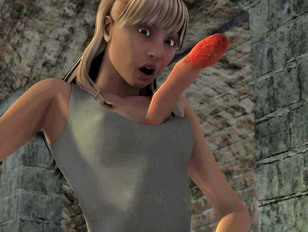 picture #1 ::: Hot freak chick can't control her ravenous inner tentacle monster