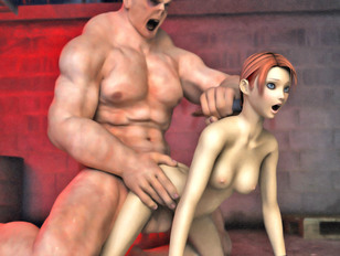 picture #5 ::: 3d monster sex video with very wild doggy style