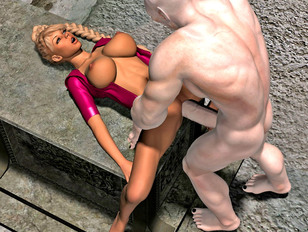 picture #1 ::: The amazing world of porncraft gallery shows cute elves raped by savage orcs.