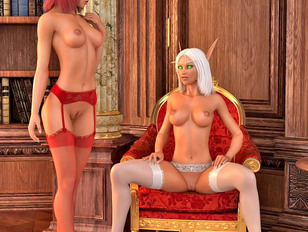 picture #5 ::: Brutal 3d gallery of kinky babes having sex with a huge scaly dragon.