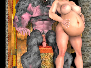 picture #1 ::: Awesome 3d tomb raider gallery showing busty sluts fucked by an evil demon.