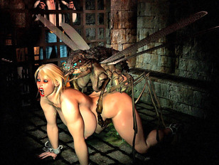 picture #3 ::: Awesome 3d tomb raider gallery showing busty sluts fucked by an evil demon.