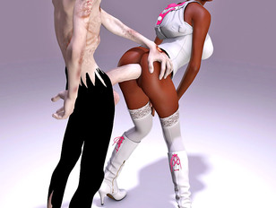 picture #7 ::: Awesome 3d tomb raider gallery showing busty sluts fucked by an evil demon.