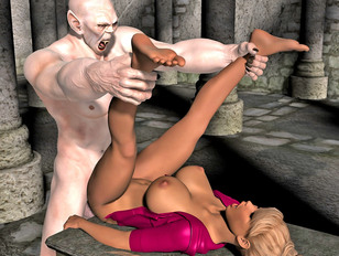 picture #4 ::: Amazing 3d resident evil hentai showing young babes fucked by rotting zombies.