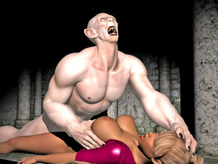 picture #4 ::: Hot blonde is destroyed by a screaming retarded man