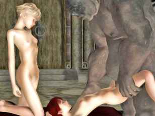 picture #6 ::: Hentai resident evil 3d sex between a wild monster and a soft pussy
