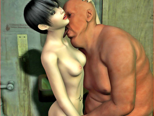 picture #8 ::: Forced to suck monster cock till he jizz her mouth is full