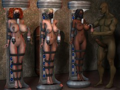 picture #3 ::: Her melons are perfect for torture 3d