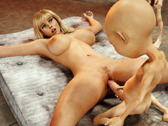 picture #3 ::: Gangbang with monster sex 3d tentacles