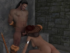 picture #6 ::: Gangbang with monster sex 3d tentacles