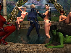 picture #2 ::: A lot of monster sex pics in these 3d monster galleries