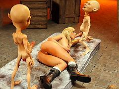 picture #6 ::: Experiencing the best 3d demon rape action
