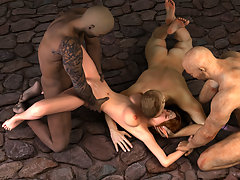 picture #3 ::: Kinky demons fucking girls all night long