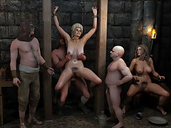 picture #6 ::: Kinky demons fucking girls all night long