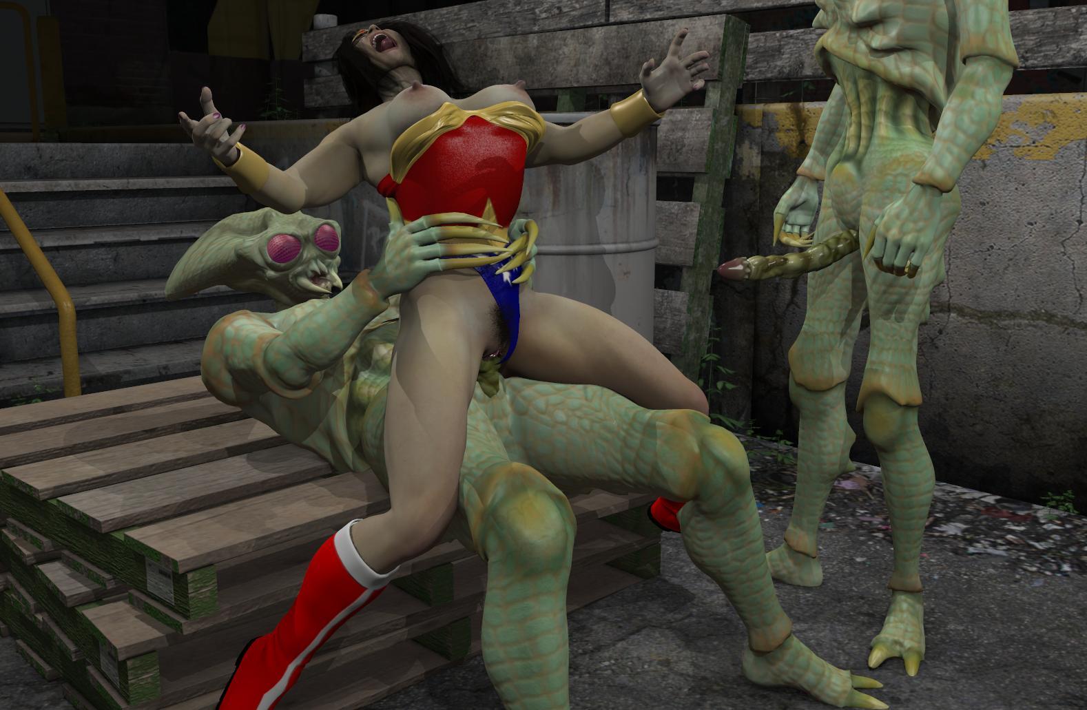 Wonder Woman Monster Sex