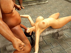 picture #4 ::: Tentacles and a dick for saucy Street Fighter chick