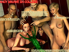picture #3 ::: Grotesque 3d demons pounding divine lusty angel bitches