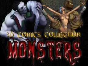 3D MONSTERS Comics