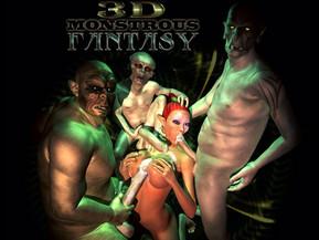 3D Monstrous Fantasy