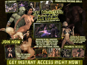 3D Monsters Attack
