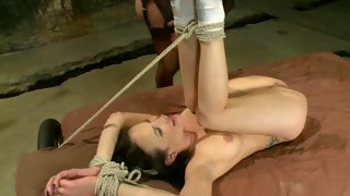 Smutty blonde tgirl gets her tasty cock wanked